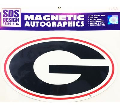 Georgia Magnet Super G Logo 3