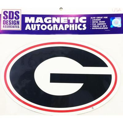 Georgia Magnet Super G Logo 12