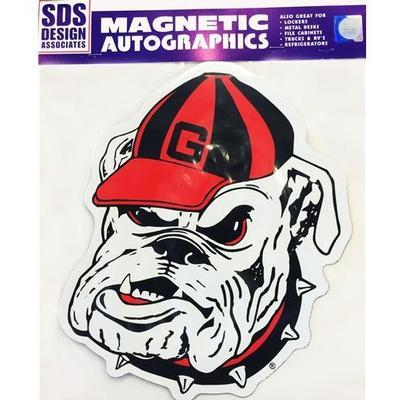 Georgia Magnet Bulldog Logo 3