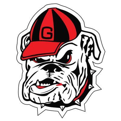 Georgia Magnet Bulldog Logo 12