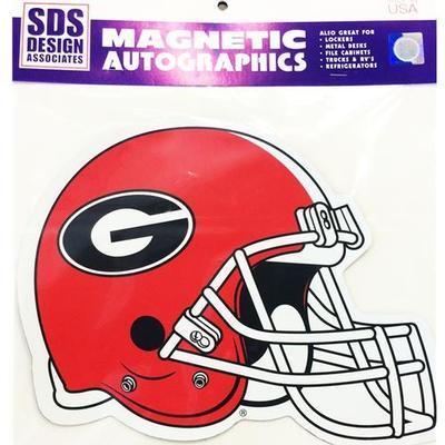 Georgia Magnet Football Helmet 3