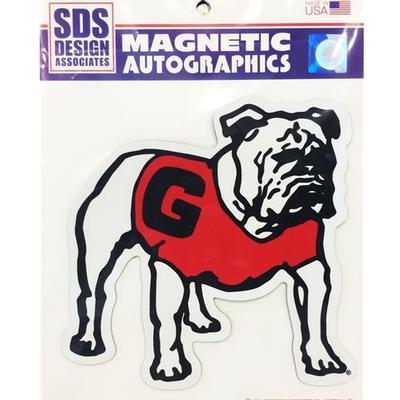 Georgia Magnet Standing Bulldog 8