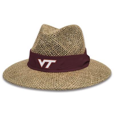 Virginia Tech Straw Hat