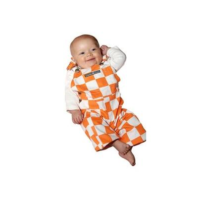 Tennessee Infant Game Bibs Checkerboard Overalls