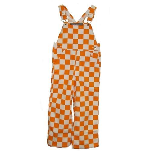 Tennessee Toddler Game Bibs Checkerboard Overalls