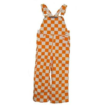 Tennessee Youth Game Bibs Checkerboard Overalls