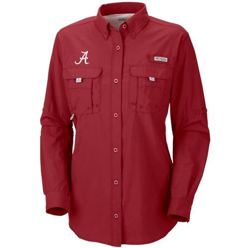 Alabama Columbia Bahama Long Sleeve Bonehead Shirt