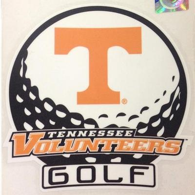 Tennessee Decal Golf 6