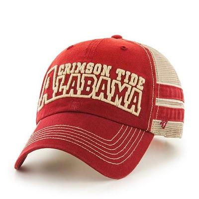 Alabama 47 Huron Meshback Snap Back Hat