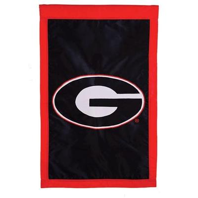 Georgia Logo House Flag Black