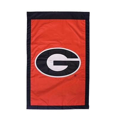 Georgia Logo House Flag Red
