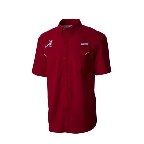 Alabama Columbia Pfg Low Drag Offshore Shirt