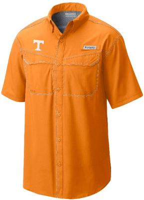 Tennessee Columbia PFG Low Drag Offshore Woven Shirt
