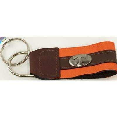 Tennessee Leather Power T Key Chain