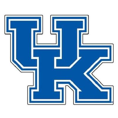 Kentucky UK Logo Auto Magnet 12