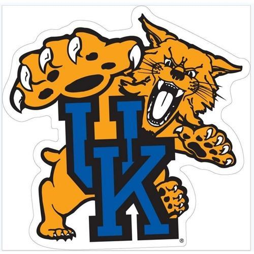 Kentucky Wildcat Uk Logo Auto Magnet 6