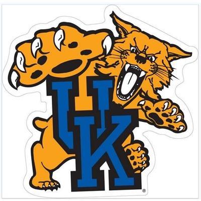 Kentucky Wildcat UK Logo Auto Magnet 6