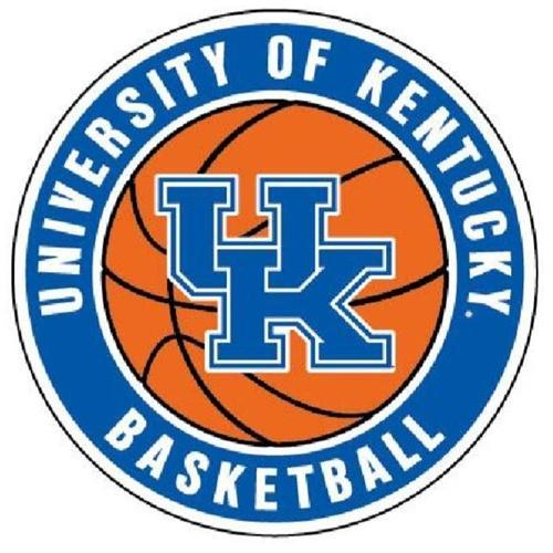 Kentucky Uk Basketball Auto Magnet 6