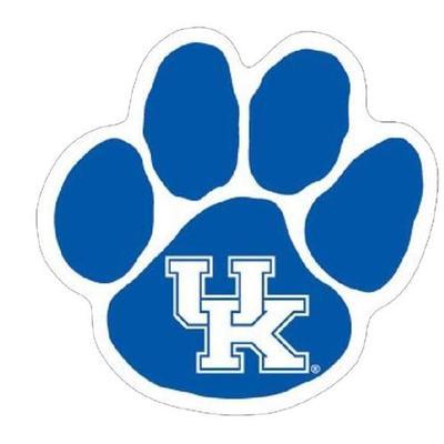 Kentucky Wildcat Paw Magnet 6
