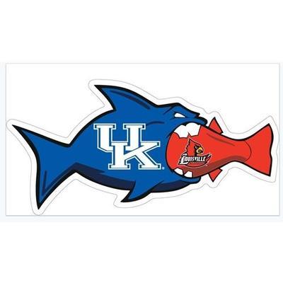 Kentucky/Louisville Rival Fish Magnet 3
