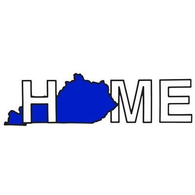 Kentucky Home Auto Decal
