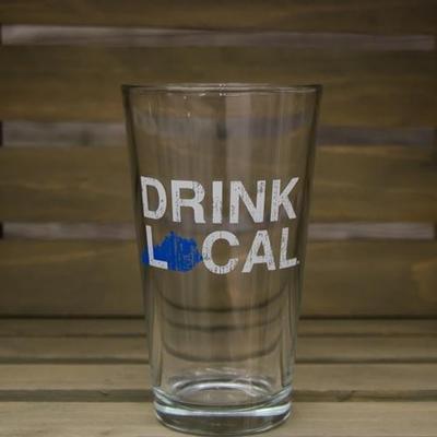 Kentucky Drink Local Pint Glass