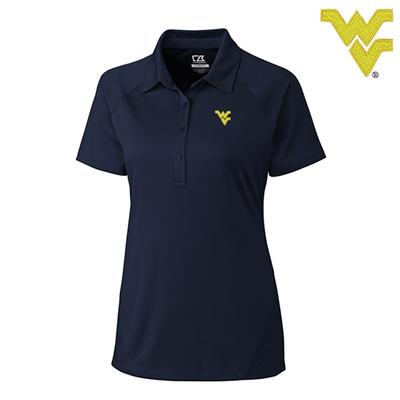 West Virginia Cutter and Buck DryTec Lacey Polo