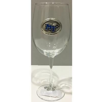 MTSU Heritage Pewter Wine Glass