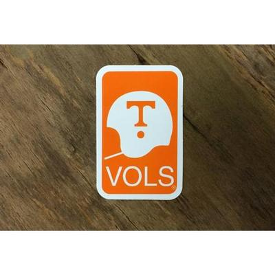 Tennessee Volunteer Traditions Vols Helmet Decal
