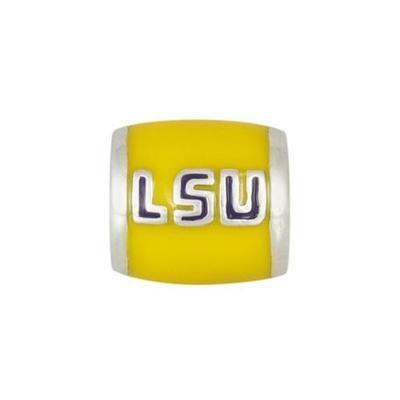 LSU Charm Bead