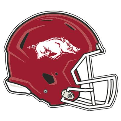 Arkansas Razorbacks Football Helmet Magnet 3