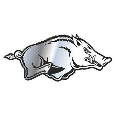 Arkansas Razorbacks Chrome Logo Magnet 3