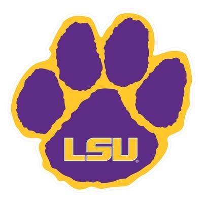 LSU Magnet Tiger Paw 6