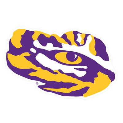 LSU Magnet Tiger Eye 9