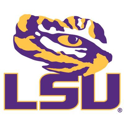 LSU Magnet Tiger Eye/LSU 6