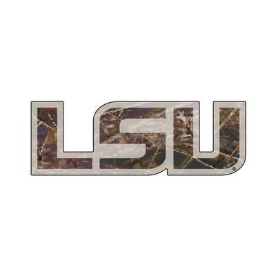 LSU Magnet Camo LSU Logo 3