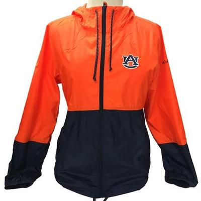 Auburn Columbia Women's Flash Forward Windbreaker