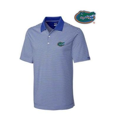 Florida Cutter and Buck Trevor Stripe Polo