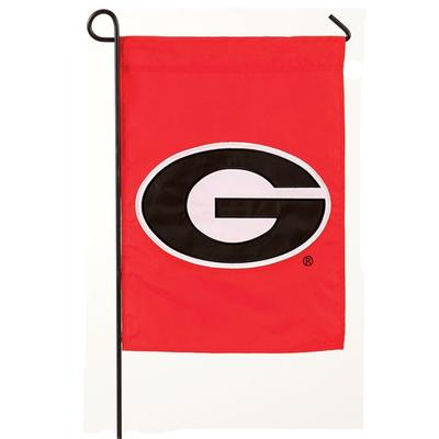 Georgia Logo Garden Flag Red