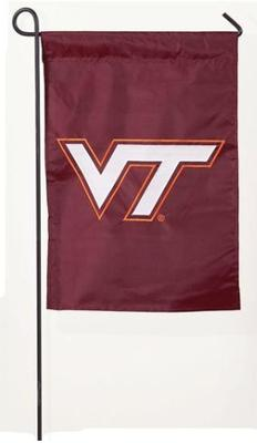 Virginia Tech Logo Garden Flag