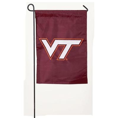 Virginia Tech Logo Garden Flag