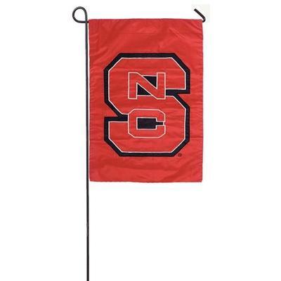 NC State Logo Garden Flag
