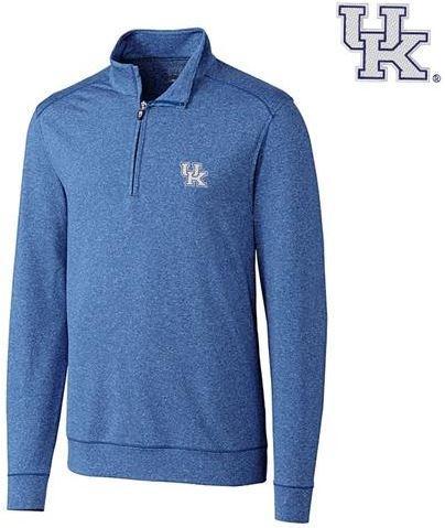 Kentucky Cutter & Buck Shoreline 1/2 Zip Pullover