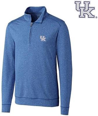 Kentucky Cutter & Buck Shoreline 1/2 Zip Pullover