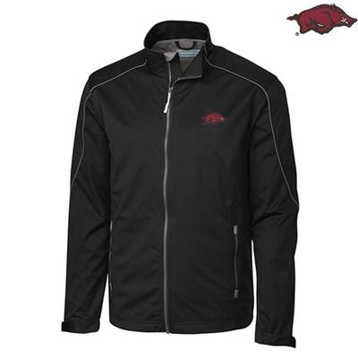 Arkansas Cutter and Buck Opening Day Weathertec Softshell Jacket
