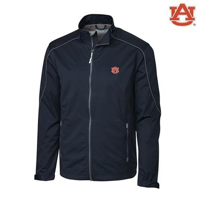 Auburn Cutter and Buck Weathertec Opening Day Softshell Jacket