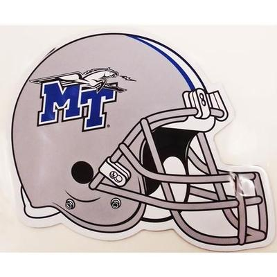 MTSU Magnet Football Helmet 8