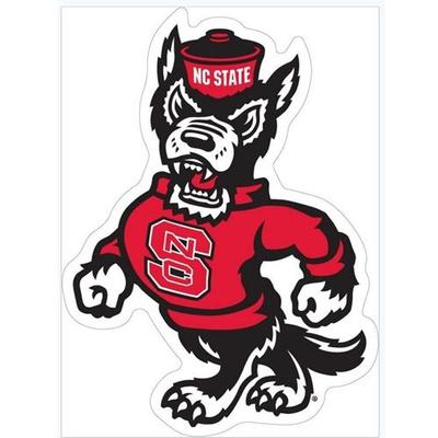 NC State Wolfie Auto Magnet 3