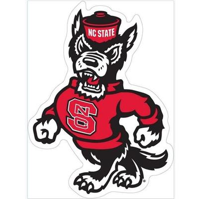 NC State Wolfie Logo Magnet 8