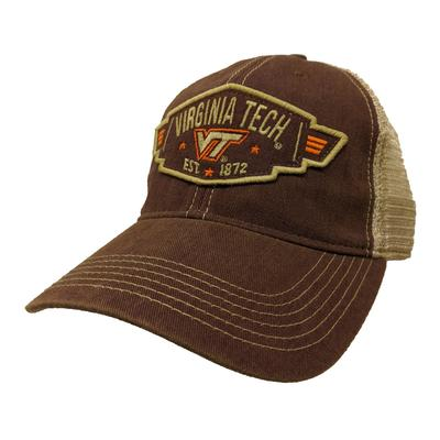 Virginia Tech Legacy Wings Mesh Adjustable Hat